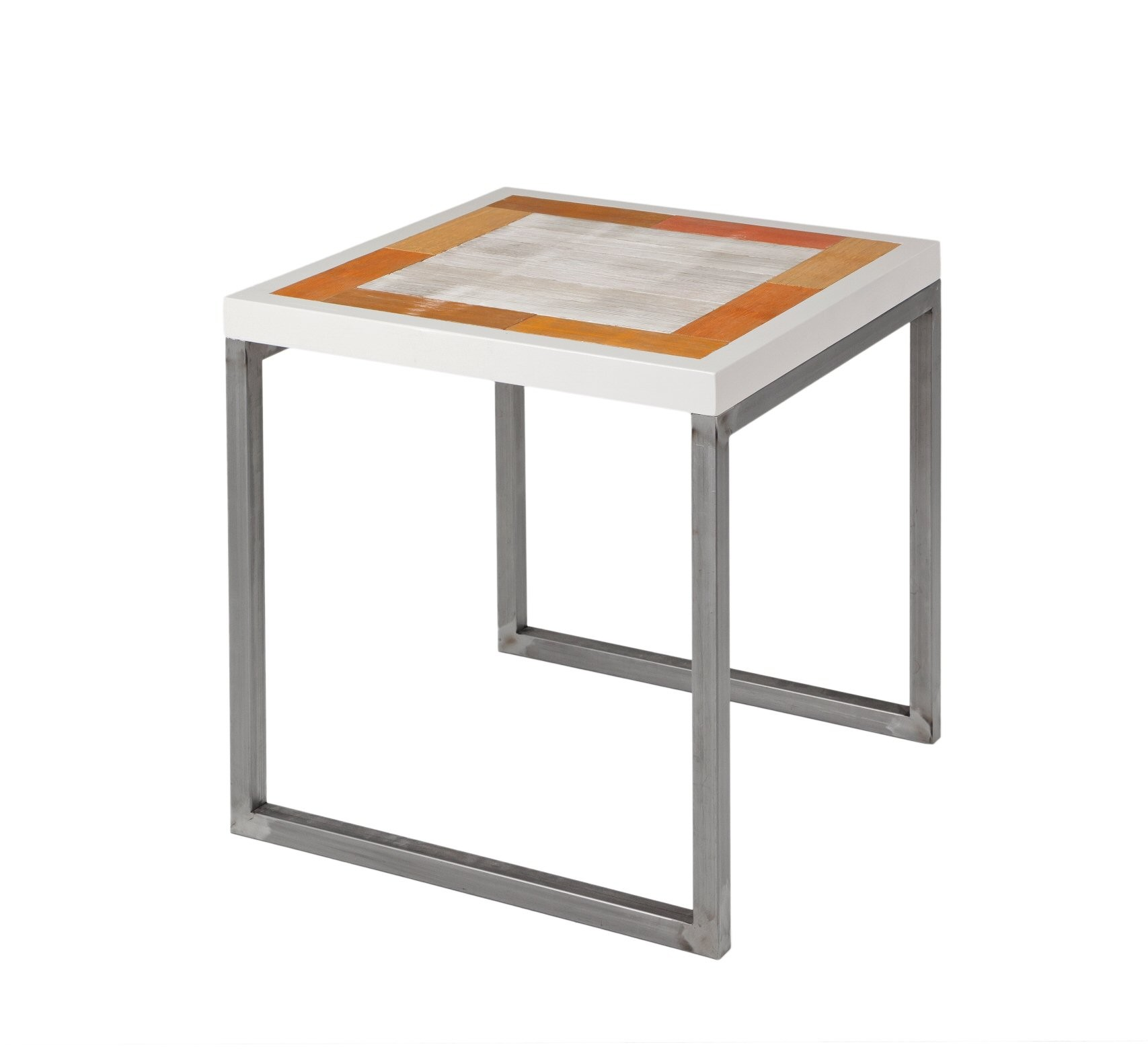 Mesa auxiliar de 60 x 60 x 60 cmmuebles de la granja for Mesa 60 x 60 extensible