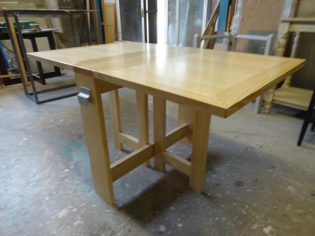 mesa de comedor plegable muebles de la granja