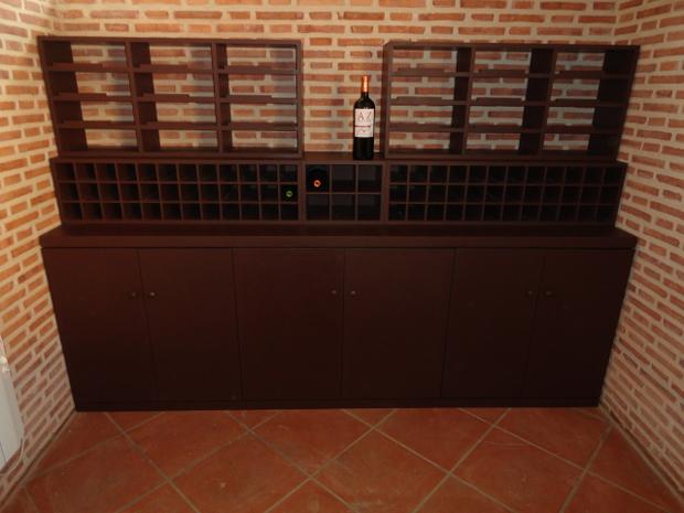 Mueble para botellas  Muebles de la Granja