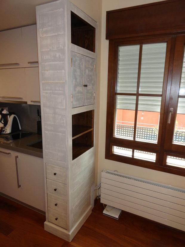 mueble separador cocina salón II
