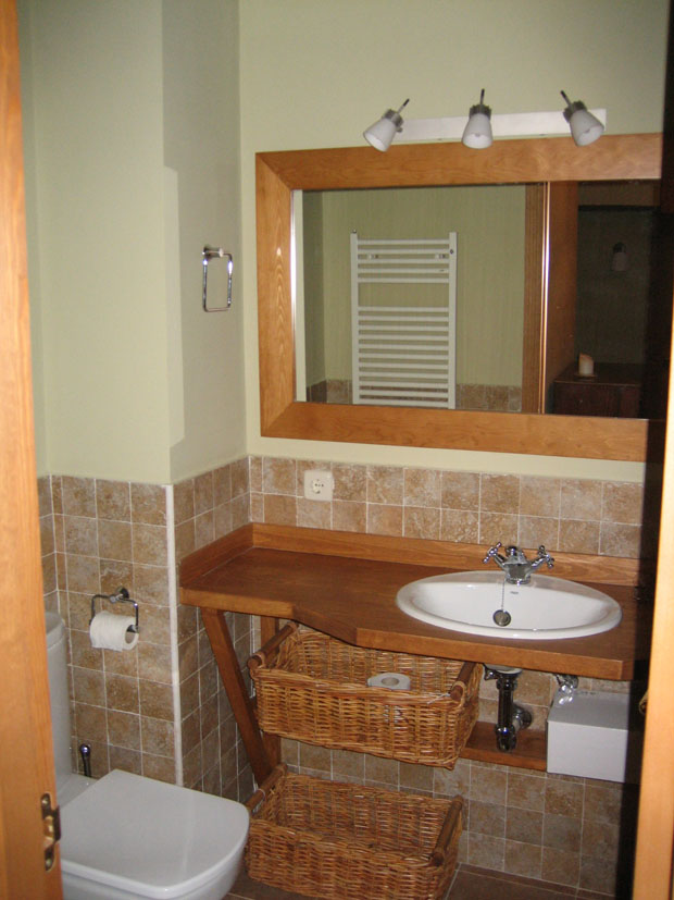 Mueble para cuarto de baño pequeño  Muebles de la Granja