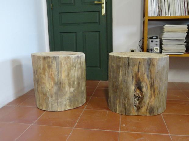 troncos pareja