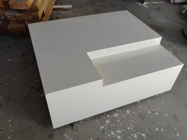 mesa alto brillo