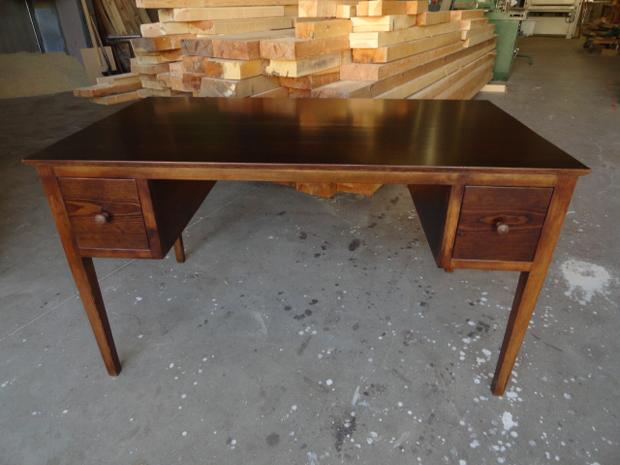 Mesa despacho clasica perfect mesa silla y silln despacho - Mesa escritorio clasica ...