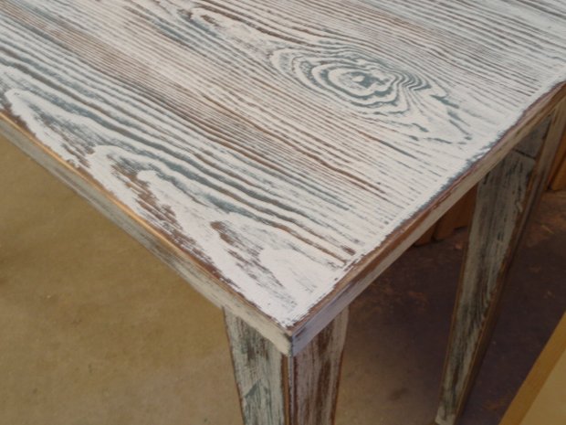 Dos mesas de estudio muebles de la granja for Cera para muebles