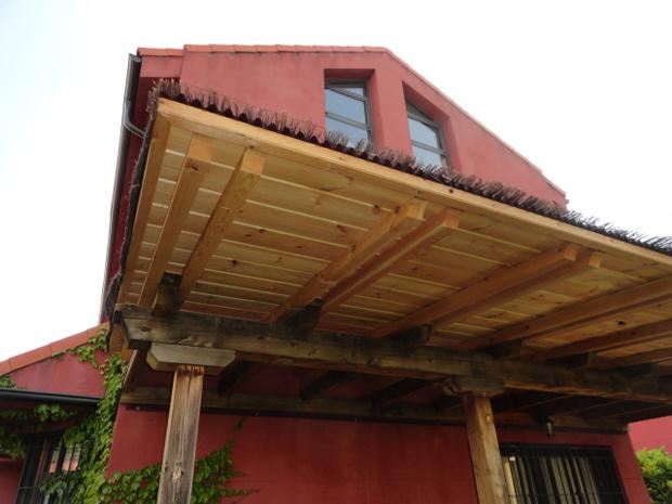 porche rojo (II)
