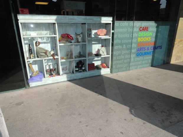 Decoración tienda Segovia