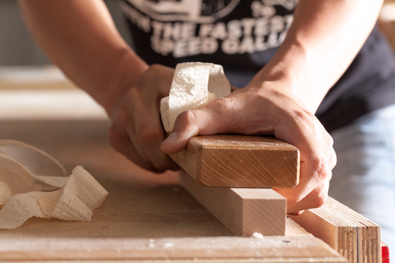 Las habilidades del carpintero