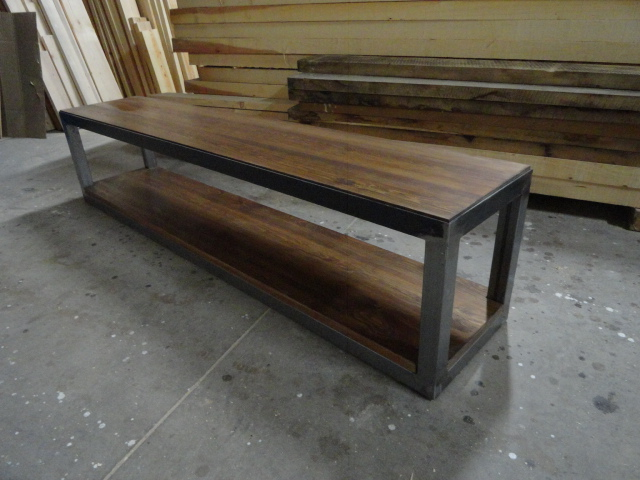 Muebles de tubo de hierro 20170815112530 - Muebles de madera y hierro ...