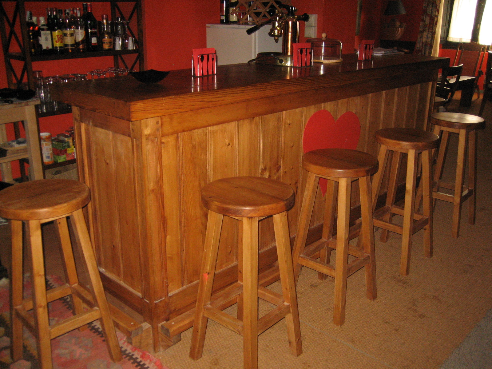 De baresmuebles de la granja muebles de la granja for Bar para casa rustico