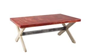 Mesa de centro de 110 x 70 x 45 cm.