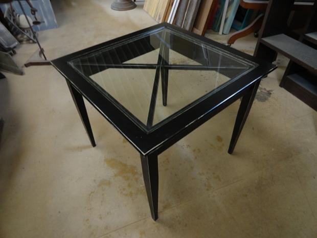 mesa auxiliar cruces negro