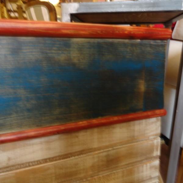Cabecero marinero para colgar a pared 100×60 cm.