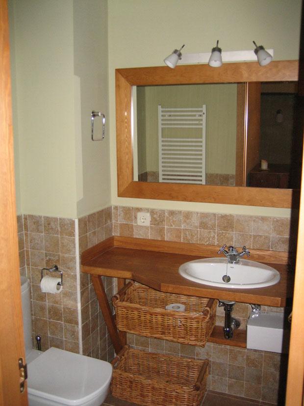 Mueble para cuarto de baño pequeño