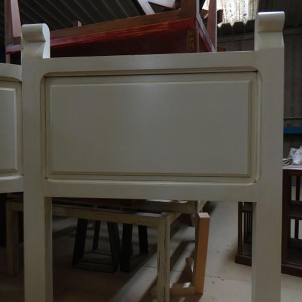 Cabecero 1 cuarterón 100×6,5×120 cm.