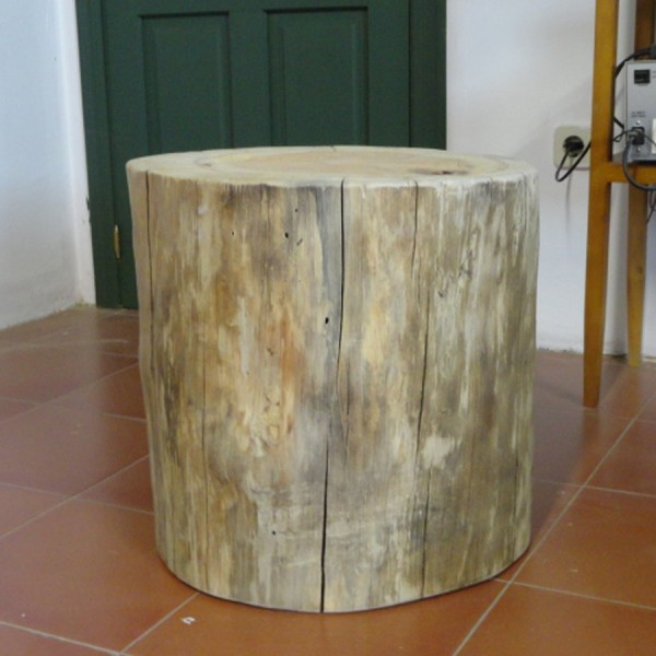 Tronco de madera 45 cm. de alto y de diámetro